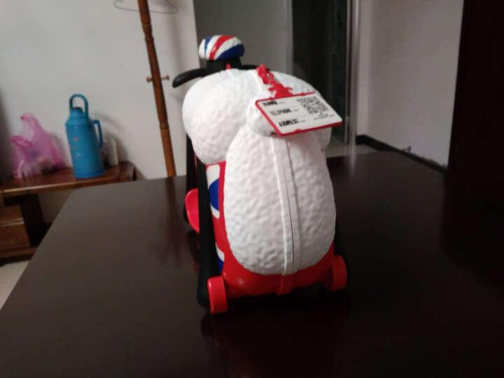 Familyout凡米粒 儿童行李箱 小羊肖恩骑行旅行箱 玩具登机箱 英伦 晒单图