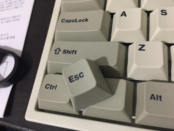 利奥博德 Leopold FC750R PD赤色限定 白色 黑色 樱桃轴87键 机械键盘 灰白色正刻【PD版】 黑轴 晒单图