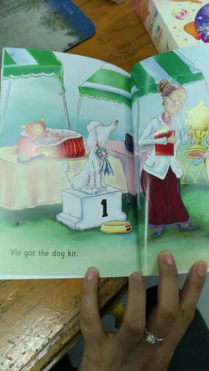 儿童英语启蒙分级绘本·我爱自然拼读·提高级(含16册图书 1张CD 1本亲子阅读手册) 晒单图