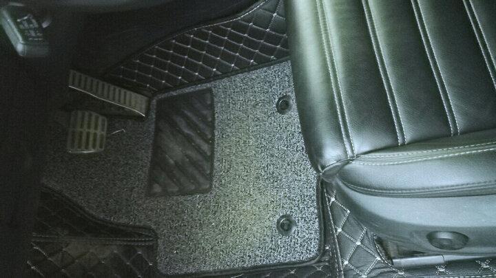 【入仓脚垫】车丽友 全包围丝圈双层汽车脚垫 专用于2012-2017款大众CC改装装饰脚垫 晒单图