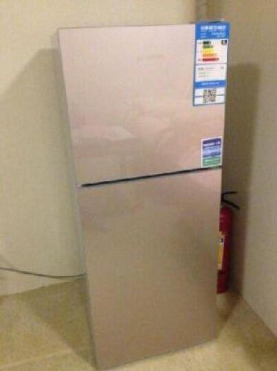 七星(SEVEN STARS)132升新款 冰箱 双门冷藏冷冻电冰箱BCD-132DQ 苹果绿 晒单图