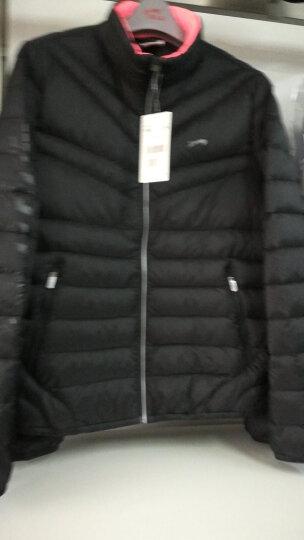 贵人鸟羽绒服女装外套新款休闲运动服保暖修身 -1银色 XL 晒单图
