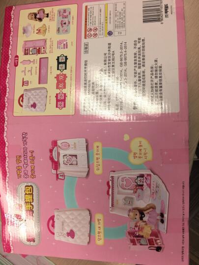 mimiworld韩国玩具 迷你时尚手提包 儿童过家家场景套装 小女孩生日礼物 美美玩具 4-6岁 娃娃提包屋 晒单图