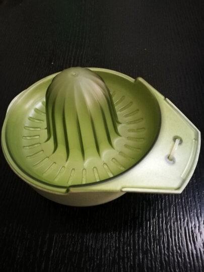 光合生活 手动榨汁机榨汁器 柠檬橙子幼儿迷你榨汁机家用压汁机厨房DIY小工具 绿色纤麦版 晒单图