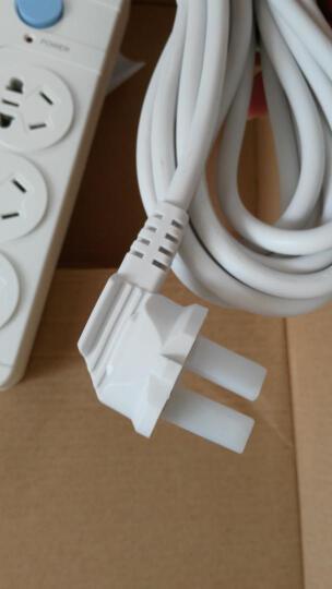 航嘉(Huntkey)大白602 6位5米 单排开关 插座/排插/插排/插线板 晒单图