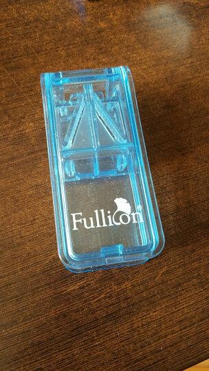 中国台湾护立康 便携集屑切药器 分药收纳 锋利刀片药盒 蓝色 晒单图