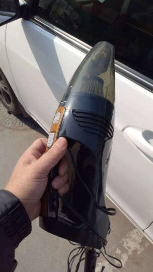 车志酷  车载吸尘器带数显指针充气泵12V迷你便携式车用大功率车家两用汽车用多功能四合一打气筒吸尘器 车载吸尘器(表针-黑) 晒单图