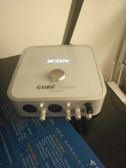 iCON 艾肯 4NANO VST专业艾肯声卡手机外置电脑网络主播电容麦克风K歌直播设备套装 艾肯4NANO 晒单图