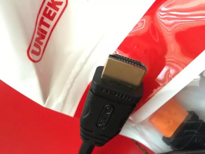 优越者(UNITEK)hdmi线2.0高清线3D视频4K数字视频线1米电脑电视连接线显示器机顶盒高清接口线扁线Y-C1014ABK 晒单图