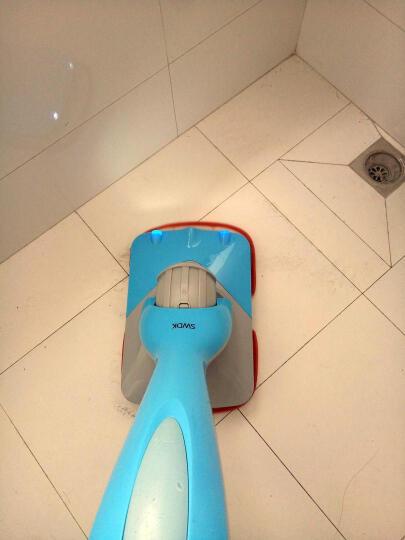 【羽泉推荐】洒哇地咔 无线电动拖把 地板清洁机 手推电动拖地机 擦地机  地板打蜡 家用 浅白色 晒单图