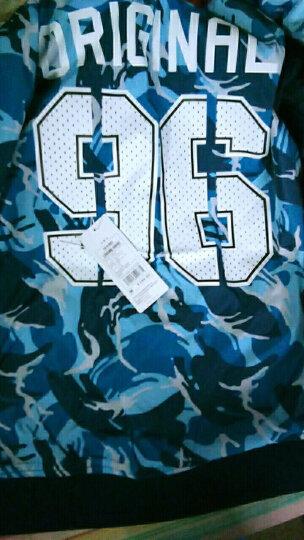 森马(Semir) 夹克男棒球服男士迷彩运动外套潮两面穿衣服学生 13316081125 蓝色调 M 晒单图