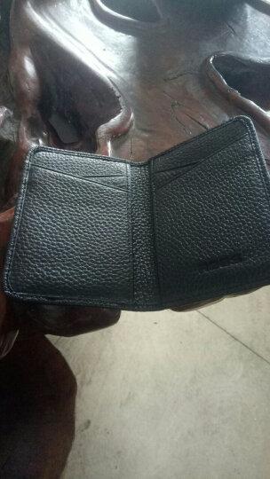 巴适(RDBS)卡包男士真皮超薄多卡位小卡包 名片夹银行卡套信用卡夹卡片包女 3058 卡其色 晒单图