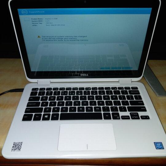 戴尔(DELL) 灵越魔方11MF-4205 11.6英寸四核轻薄触屏二合一平板笔记本电脑 白色W    触控屏 (N3710 8G 240G固态 定制) 晒单图