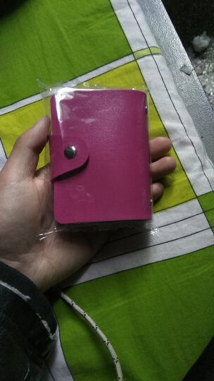 沙漠草 卡包男士女士24卡位包银行卡包零钱包 卡包颜色随机发货 晒单图