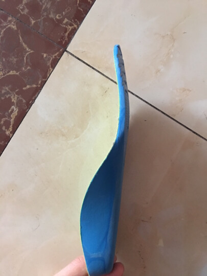 靴之侣 儿童扁平足矫正鞋垫足弓支撑 草绿色 长20cm 晒单图