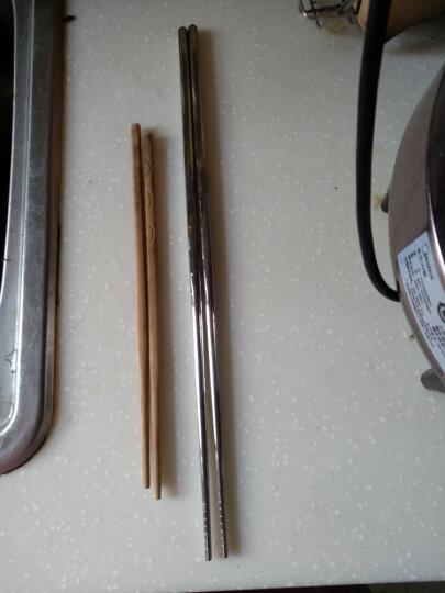 欧乐多(Olodo) 长筷子304不锈钢炸油条的加长油炸筷子防烫捞面筷火锅筷子 油炸长筷子( 1双) 晒单图