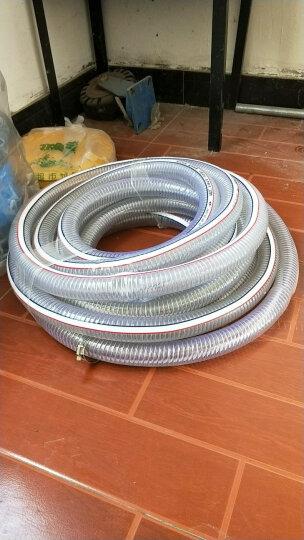 海象人 pvc带钢丝软管耐高压水管胶管液压油管25/50/mm1寸编织塑料透明管 内径45mm*外径52mm 晒单图