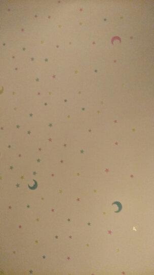 【全店3件9.1折】自粘夜光墙贴荧光小星星立体贴 创意浪漫星空儿童房婚房卧室卡通墙壁装饰贴 8cm混色月亮贴(10个装) 晒单图