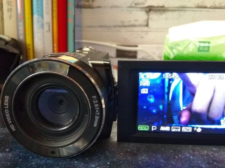 欧达Z8摄像机数码DV全高清闪存双重五轴防抖红外遥控2400万像素16倍变焦家用旅游 黑色 京东送货+标配送大礼包 晒单图