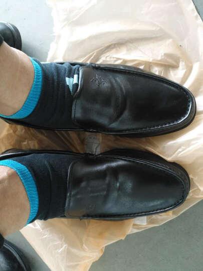 圣大保罗男士皮鞋男鞋真皮休闲皮鞋2017秋季新款软底套脚皮鞋 棕色--此款偏大一码 39 晒单图