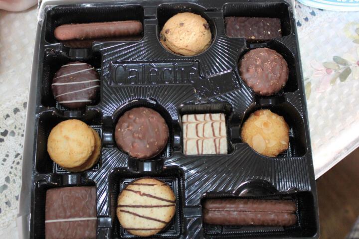 露怡LU饼干零食休闲食品 脆皮巧克力熔岩卷 晒单图