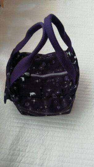 Frazzil/法姿迷你女包 小手拎包 休闲小布包 mini手提包女个性款 4134 深星空图/深蓝紫 晒单图