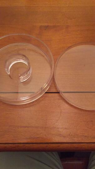 彩荷文玩佛珠礼盒保养盒柜台展示盒子透明盒珠宝亚克力圆形沉香养珠盘 翻盖款小号手镯盒 晒单图