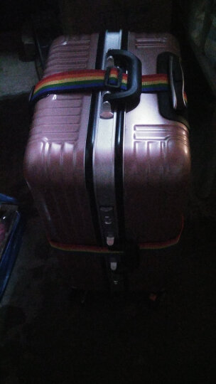 欣沁 行李箱十字打包带拉杆箱绑定码锁托运捆绑带 彩色QL-36R 晒单图