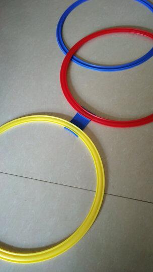 贝比谷 幼儿园室内游戏玩具感统训练器材跳格子儿童户外运动器械跳房子 大号10圈20卡扣+沙包 晒单图