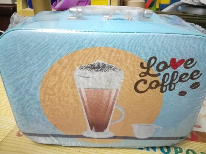 麦斯威尔 速溶咖啡随行收纳化妆包(绿色 24包6种风味)496g/盒 晒单图