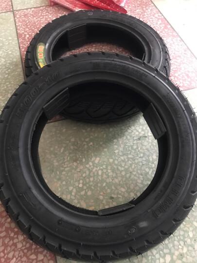 千里马电动车3.00-10钢丝真空轮胎300-10踏板车3.50-10 3.00-10花纹531  6层级真空胎+送气嘴 晒单图