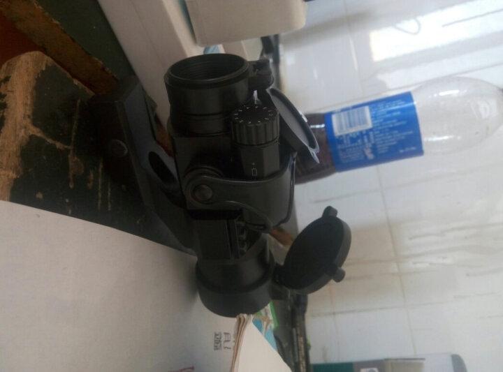 水弹瞄配件快速寻鸟瞄准镜四变点全息瞄T1小海螺55系列M2激光瞄准器内红点光学瞄十字镜 IPSC竞技瞄COMRE-沙色 晒单图
