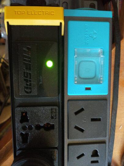 突破(TOP)PDU机柜防雷防电涌插座/8位3米2.5平方线16A插头/07TG130301/插座/插线板/插排 晒单图
