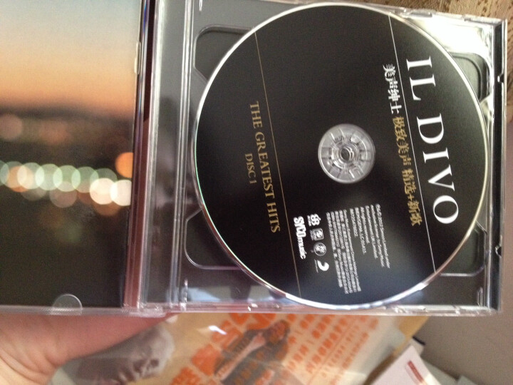 SONY 美声绅士:极致美声精选(豪华版)(2CD) 晒单图
