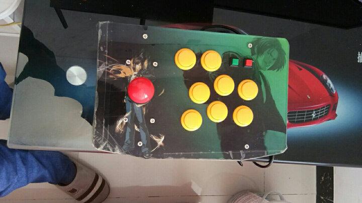 霸王小子 游戏手柄摇杆 街机拳皇游戏有线摇杆PC97街霸手柄 电脑专用版K2-B 晒单图
