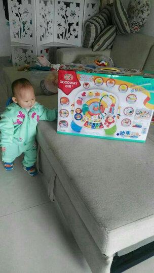 谷雨婴儿玩具1-3岁幼儿宝宝多功能游戏桌学习桌儿童动车小火车玩具小孩礼物生日1周岁2岁3岁 谷雨游戏桌8866 晒单图