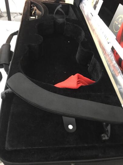 红棉小提琴V008升级版练习考级手工实木小提琴初学者专业级儿童成人入门小提琴成人 V008初学套餐 标配+谱架+练弓器+弱音器 晒单图
