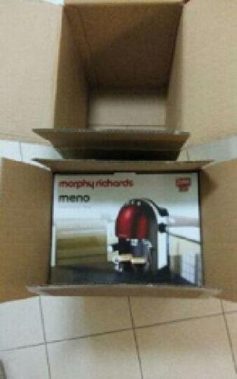 摩飞电器(Morphyrichards) MR4667 意式浓缩咖啡机 英伦红 MR4667经典红 晒单图
