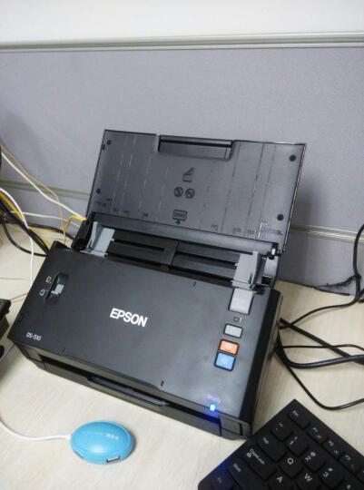 爱普生(EPSON)DS-510 A4彩色馈纸式双面高速扫描仪 晒单图