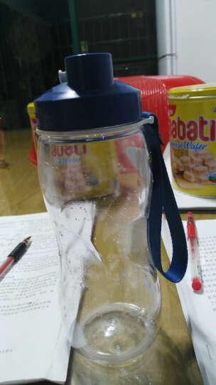 茶花(CHAHUA)塑料水杯随手杯多规格直纹杯 水滴纹 运动杯 家庭水杯 水滴纹3813容量520ml 晒单图