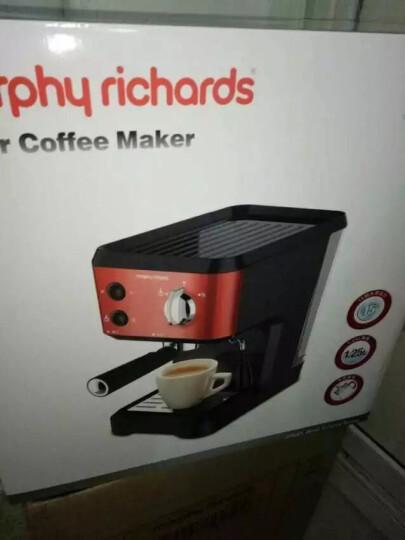 摩飞(Morphyrichards) MR4677 泵压式咖啡机 意式蒸汽奶泡 晒单图