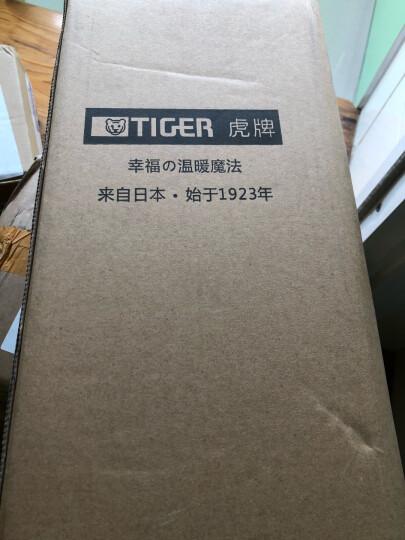 虎牌(TIGER) 保温壶304不锈钢便携按压保温瓶热水瓶PWL-A16C 1.6L 天鹅灰TG 晒单图