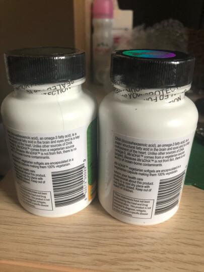Life's DHA 美国原装 马泰克Martek孕妇海藻油DHA软胶囊哺乳期必备60粒 两瓶 晒单图