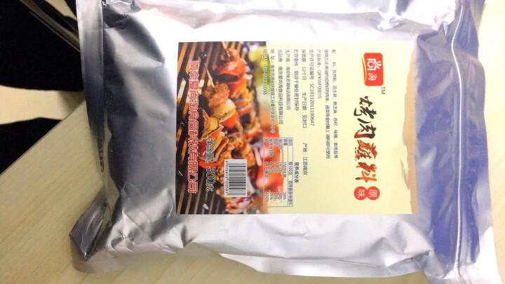 韩式烤肉蘸料烧烤调料撒料东北烤肉干料沾料不辣羊肉串腌料 500g/袋 1袋 晒单图