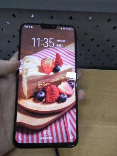 vivo X21 全面屏 双摄拍照游戏手机 6GB+128GB 冰钻黑 移动联通电信全网通4G手机 晒单图