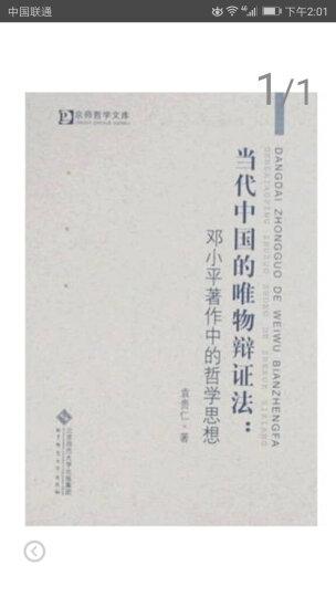 当代中国的唯物辩证法:邓小平著作中的哲学思想 晒单图