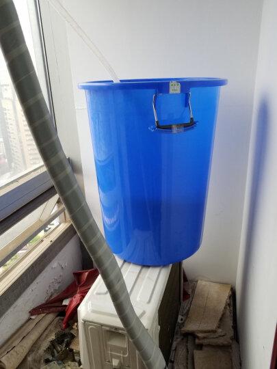 曾师傅 水桶 塑料大号储水桶特大号家用户外物业垃圾桶加厚水桶带盖 蓝色 160L加厚型带盖 晒单图
