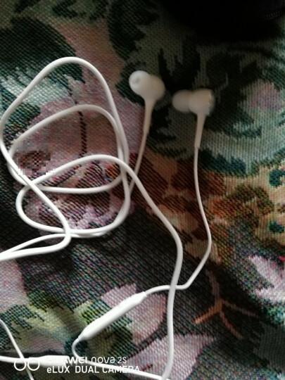 三星耳机原装 iG935耳机Note8/S8/S7/S9线控 音乐耳机 通话入耳式耳机 白色(送)收纳盒 晒单图