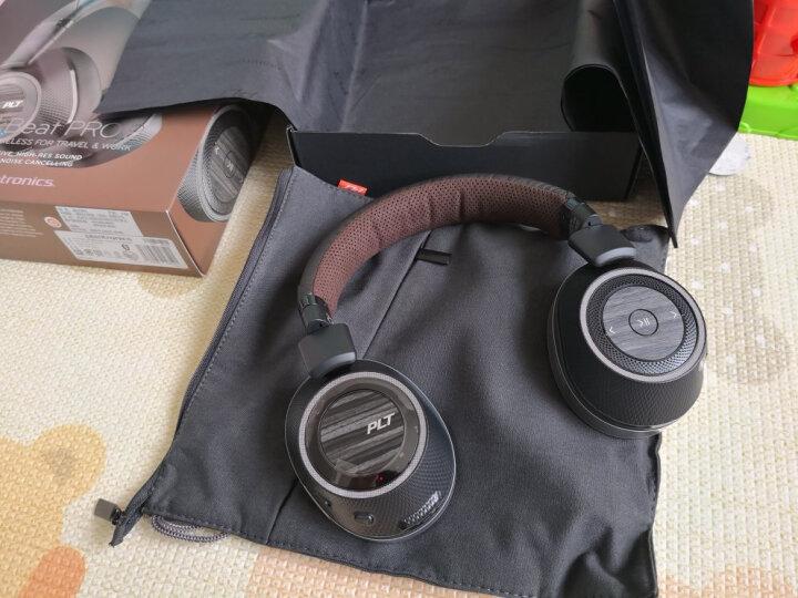 缤特力(Plantronics)BackBeat PRO 2 特别版 主动降噪立体声蓝牙耳机 音乐耳机 通用型 头戴式 黑灰色 晒单图