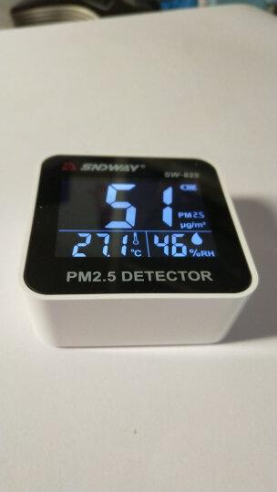 深达威 空气质量PM2.5检测仪 USB充电粉尘浓度颗粒雾霾测量仪 温湿度计 SW-825(PM2.5检测仪) 晒单图